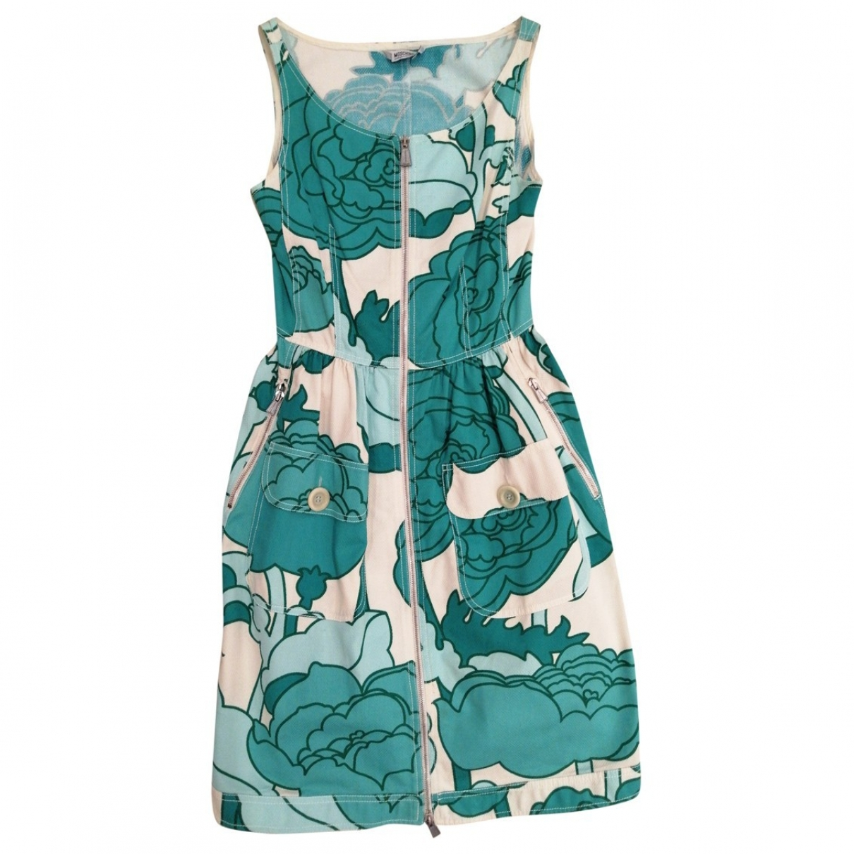 Moschino Cheap And Chic \N Kleid in  Bunt Baumwolle