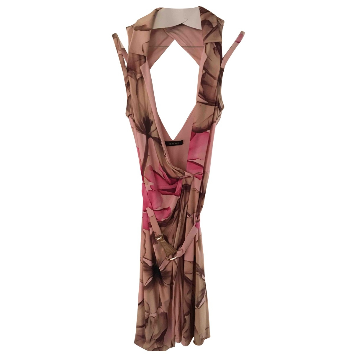 Versace \N Pink dress for Women 38 FR