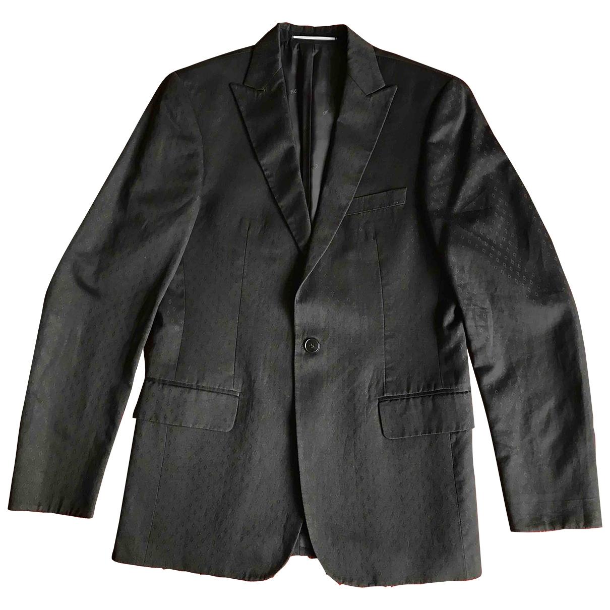 Karl Lagerfeld \N Black Cotton jacket  for Men 48 IT