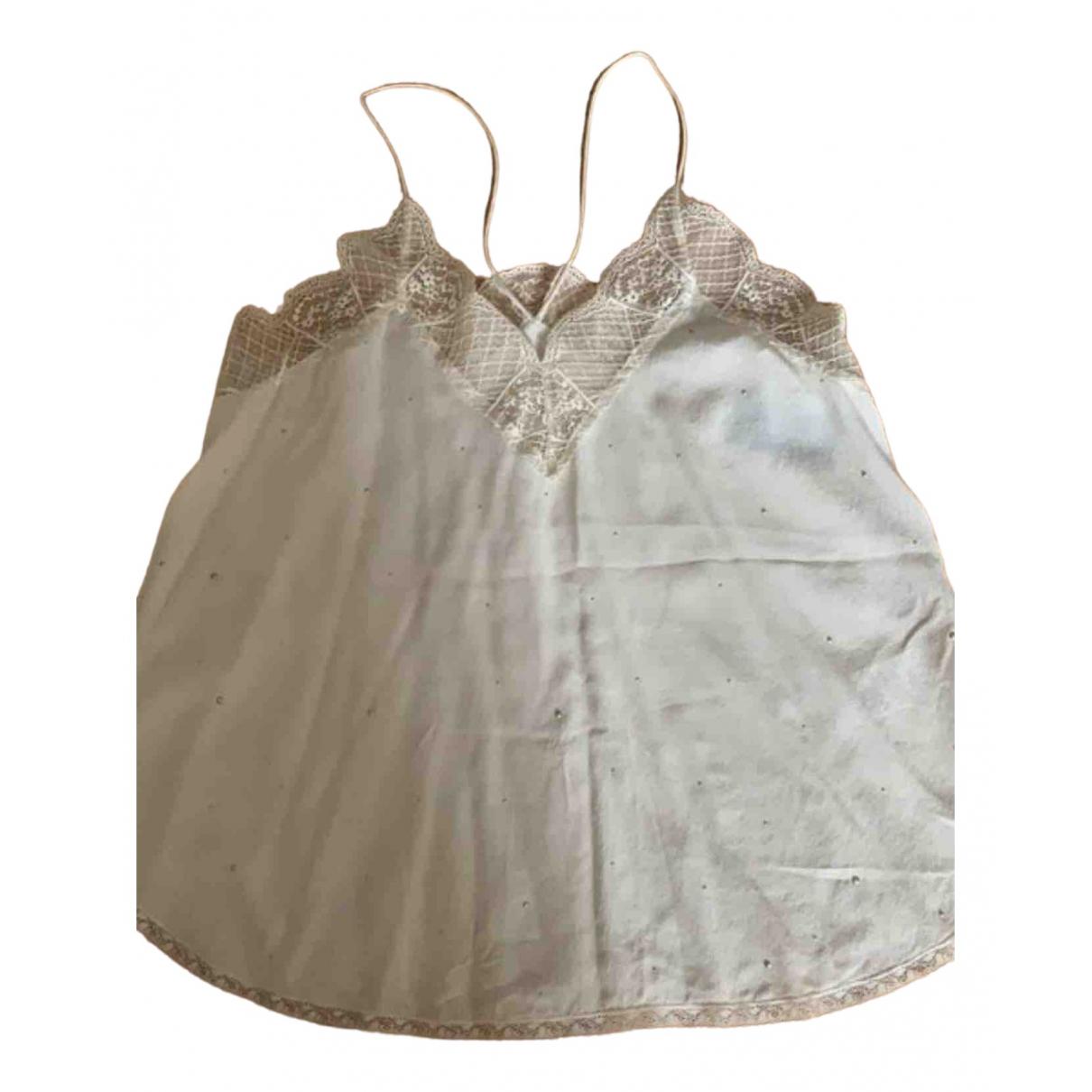 Zadig & Voltaire \N Ecru Silk  top for Women XS International