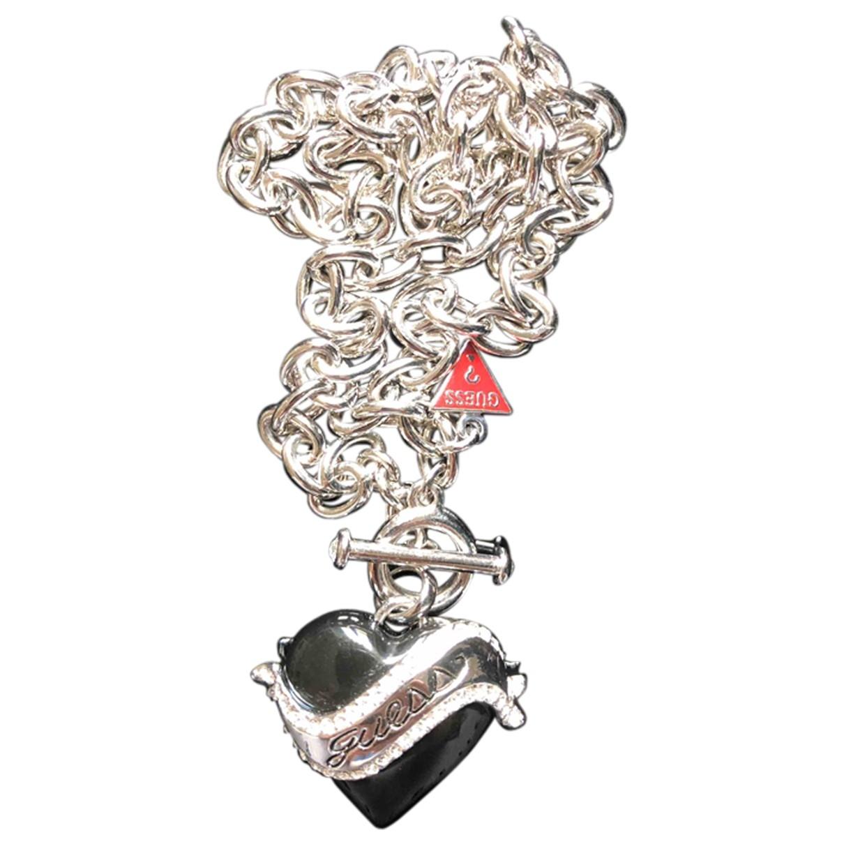 Guess - Collier   pour femme en acier - argente