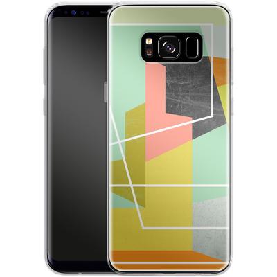 Samsung Galaxy S8 Silikon Handyhuelle - Color Block II von Susana Paz