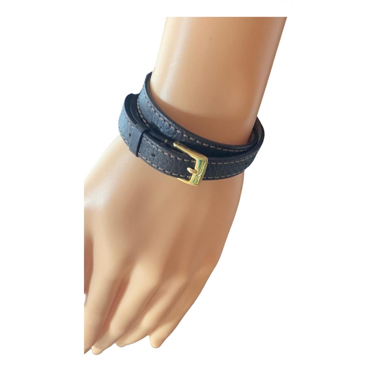 Lancel - Bracelet   pour femme en cuir - marron