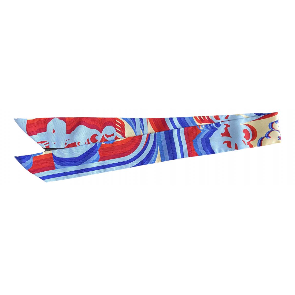 Hermès Twilly 86 Multicolour Silk scarf for Women \N