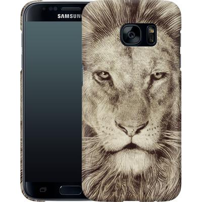 Samsung Galaxy S7 Smartphone Huelle - Leo Lion von Eric Fan