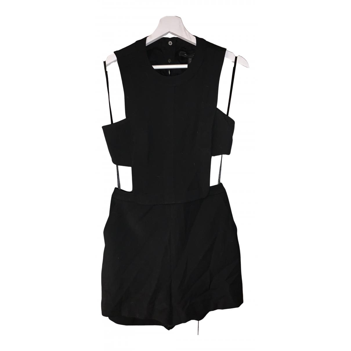 Bcbg Max Azria - Combinaison   pour femme en coton - noir