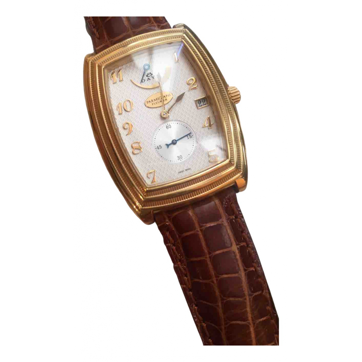 Parmigiani Fleurier N White Yellow gold watch for Women N