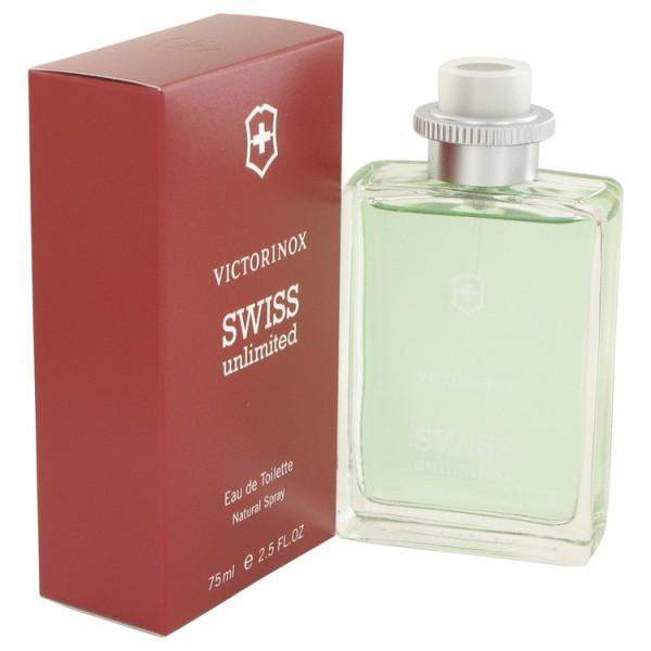 Swiss Unlimited - Victorinox Eau de toilette en espray 75 ml