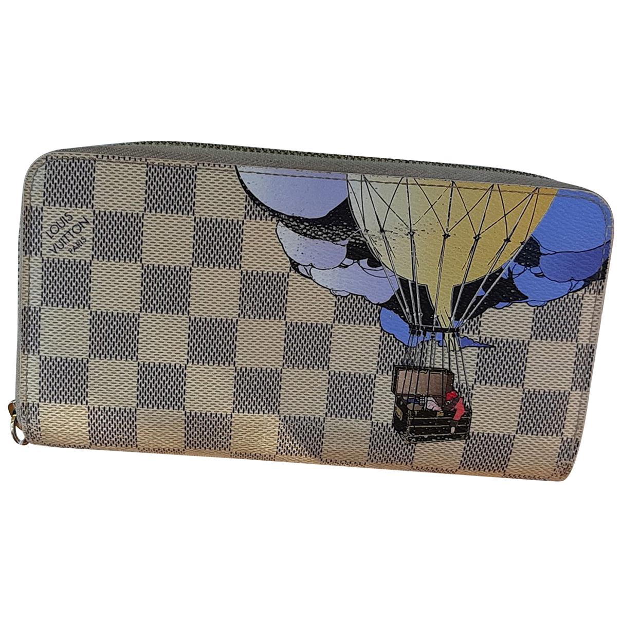 Louis Vuitton Zippy Beige Cloth wallet for Women N