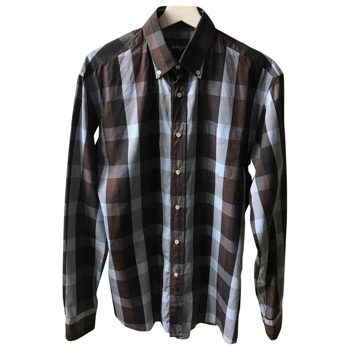 Sebago \N Multicolour Cotton Shirts for Men M International