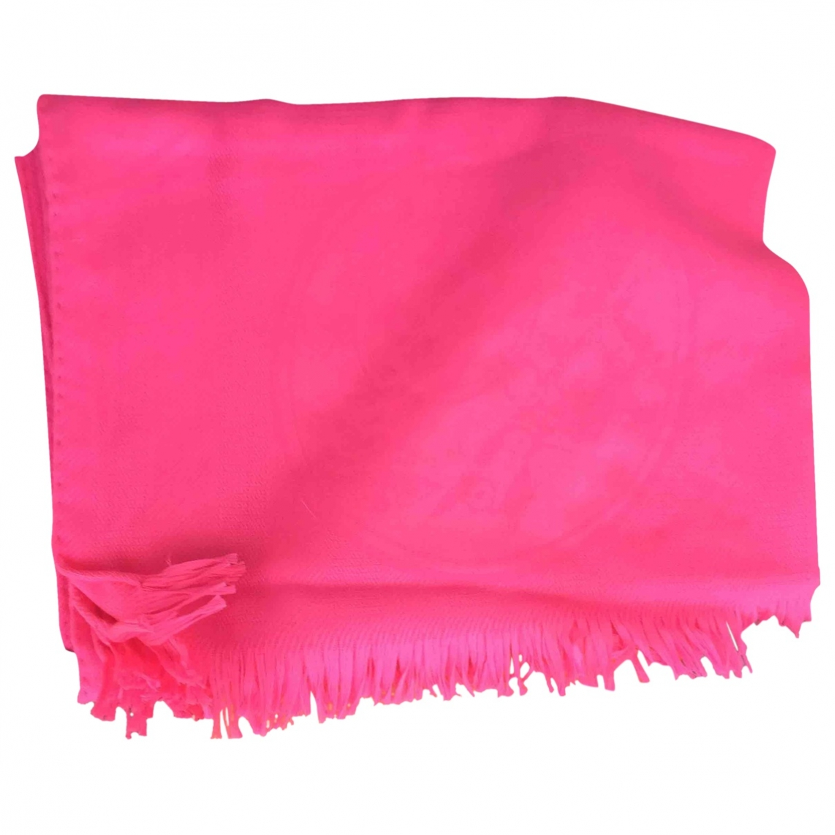 Hermès Châle 140 Pink Cashmere scarf for Women \N