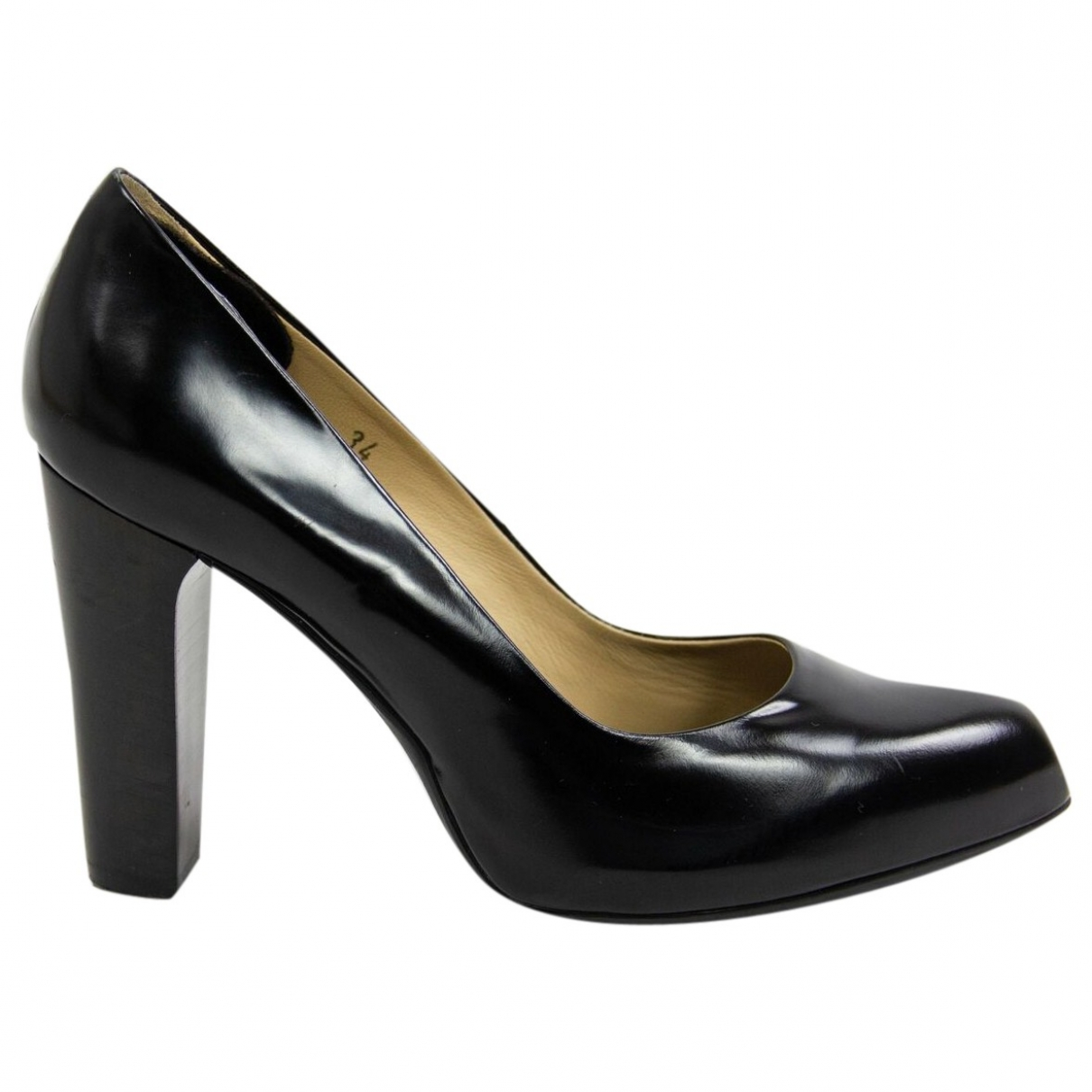 Tod's \N Black Leather Heels for Women 34 EU