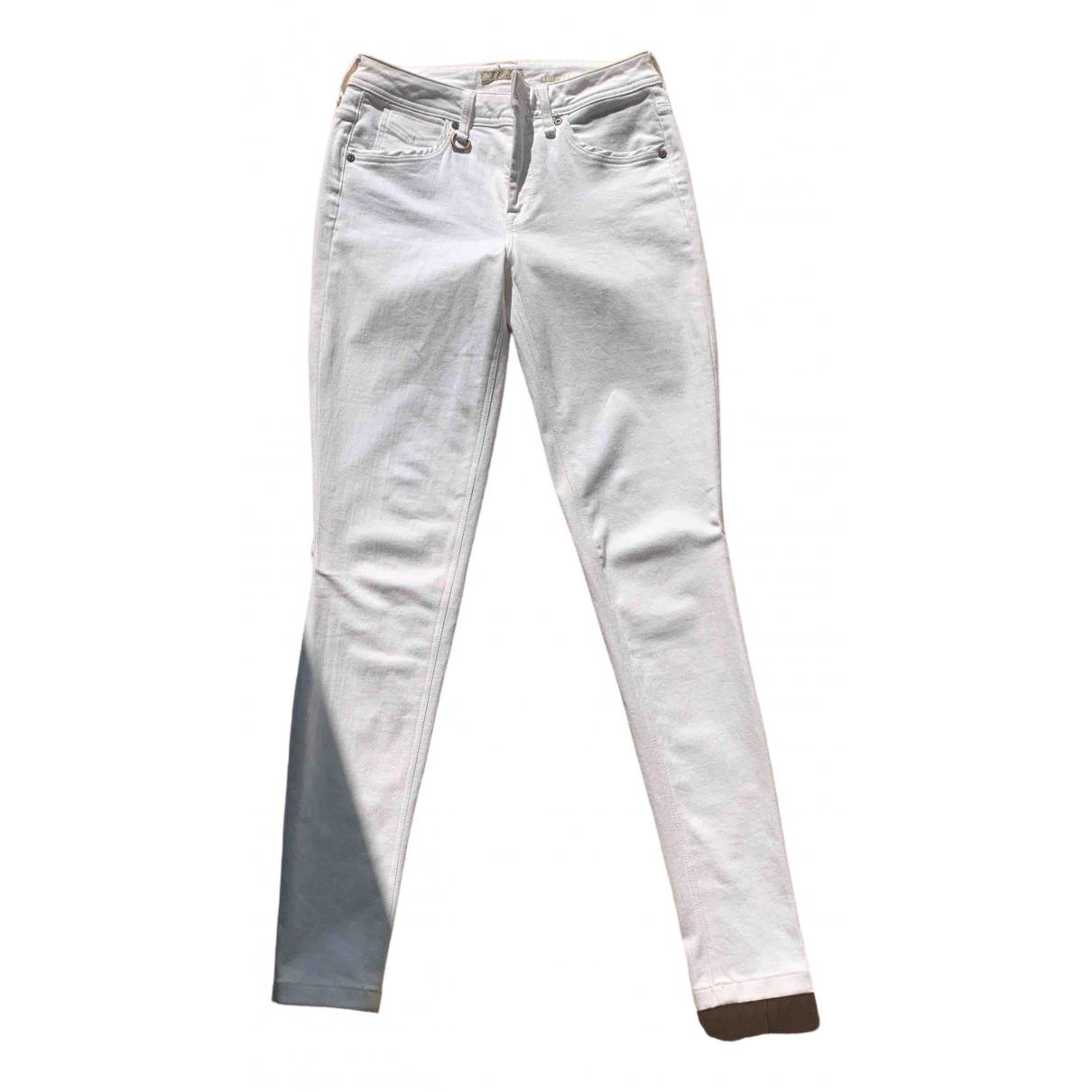 Burberry N White Cotton - elasthane Jeans for Women 28 US