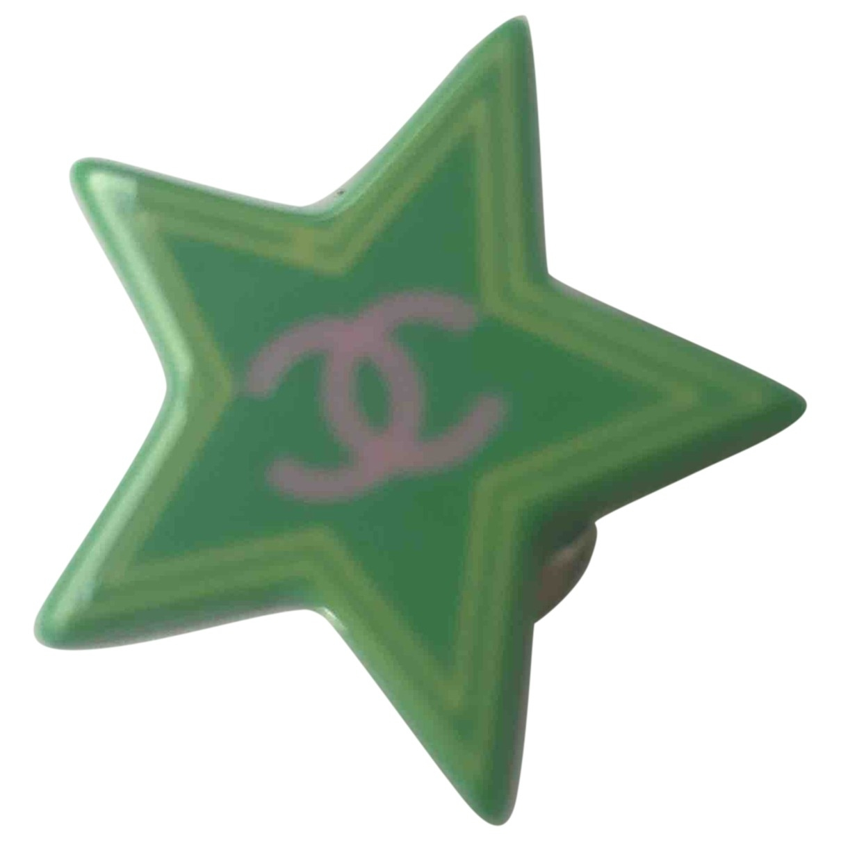 Chanel \N Green Pins & brooches for Women \N