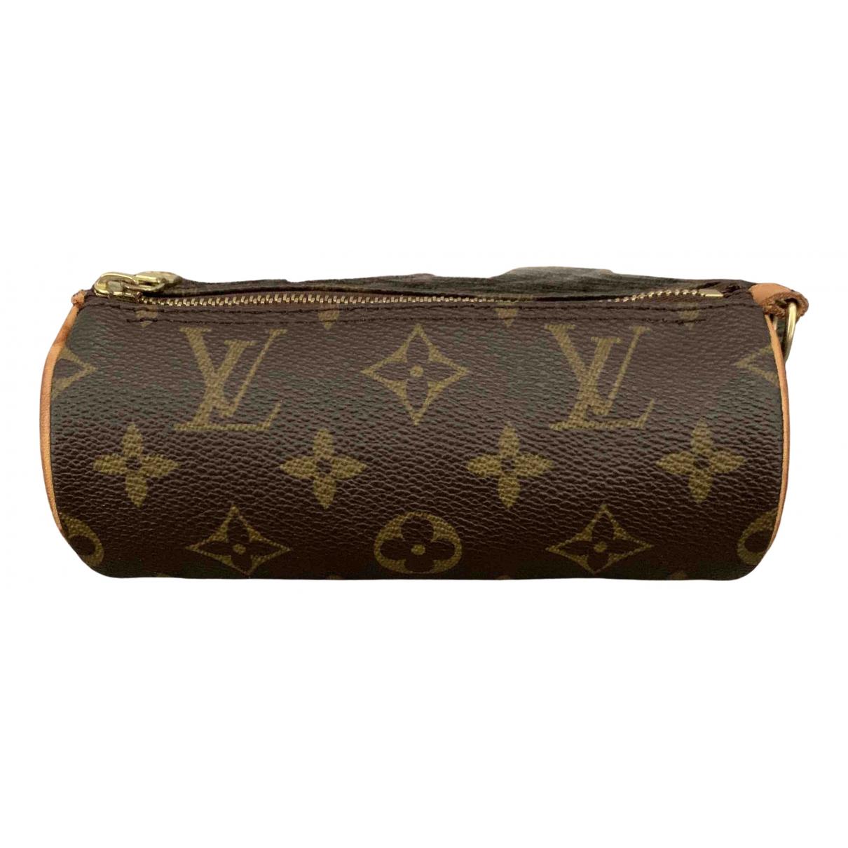 Louis Vuitton Papillon Brown Cloth handbag for Women N