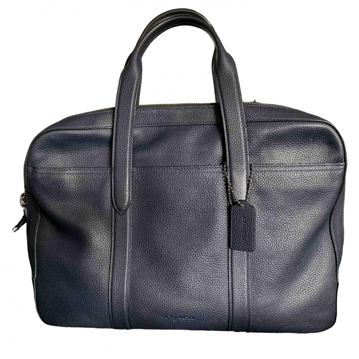 Bolso de viaje de Cuero Coach