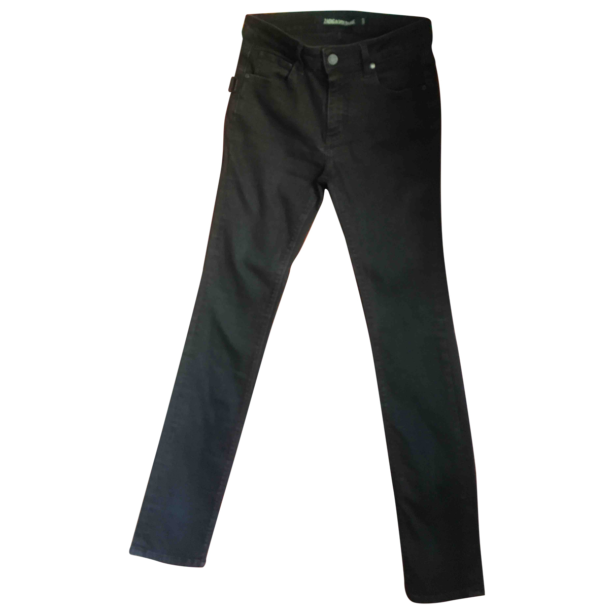 Zadig & Voltaire Spring Summer 2019 Black Denim - Jeans Trousers for Women M International