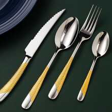 4pcs Stainless Steel Cutlery Set