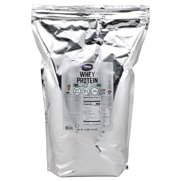 Whey Protein Dutch Chocolate, 10lb by Now Foods
