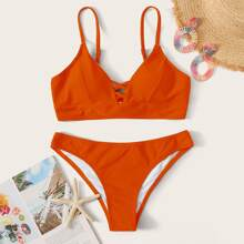 Bañador bikini de espalda con cordon
