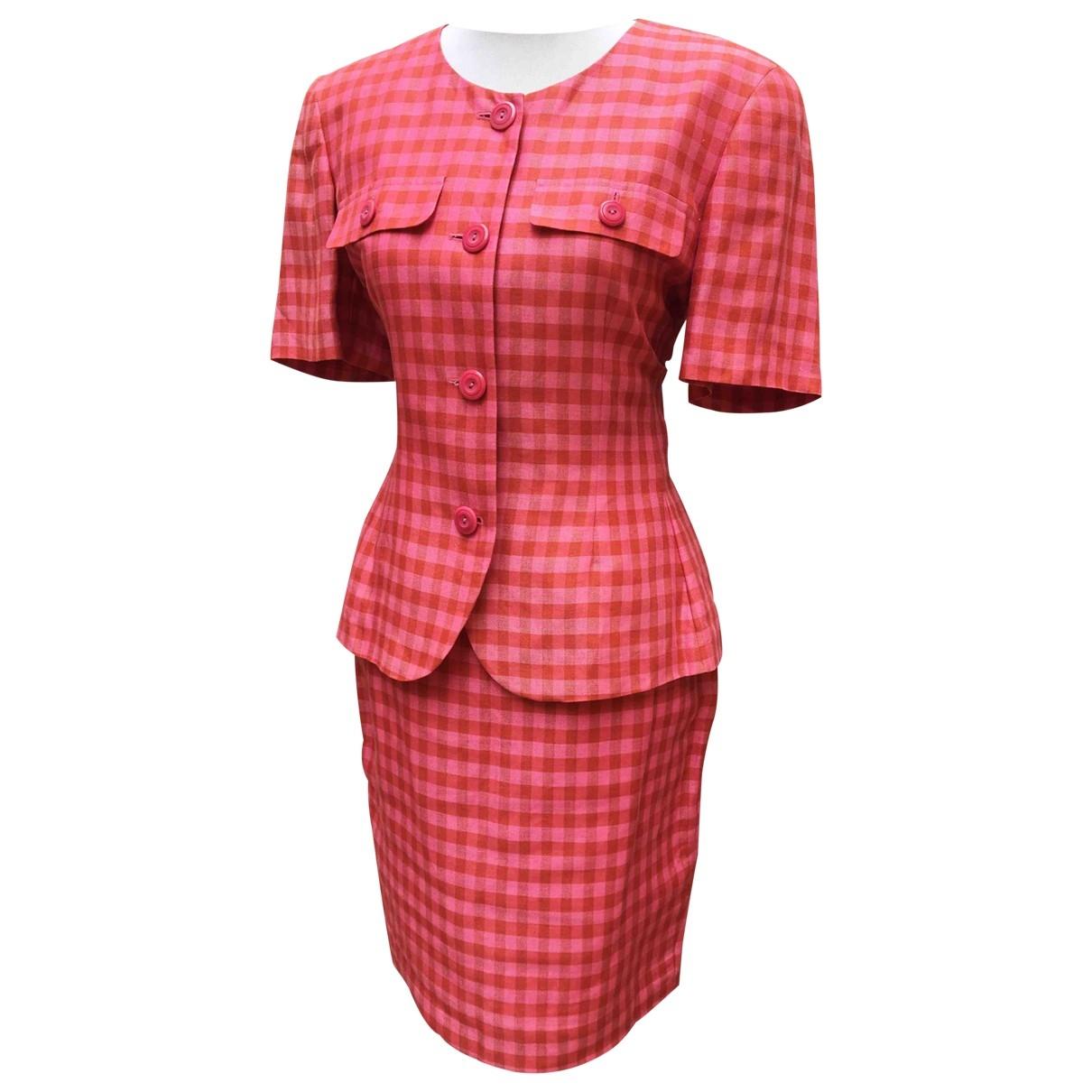 - Veste   pour femme en lin - multicolore