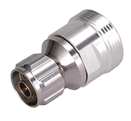 Huber & Suhner Straight 50Ω RF Adapter N Plug to 7/16 Socket 7.5GHz