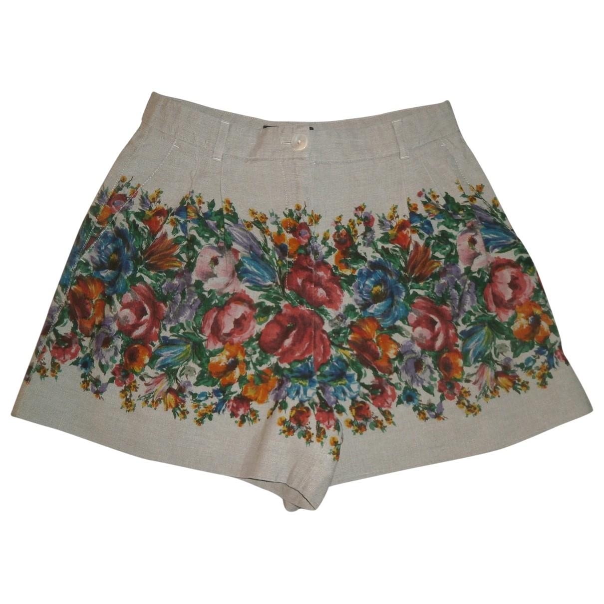 Dolce & Gabbana \N Multicolour Cloth Shorts for Women 42 IT