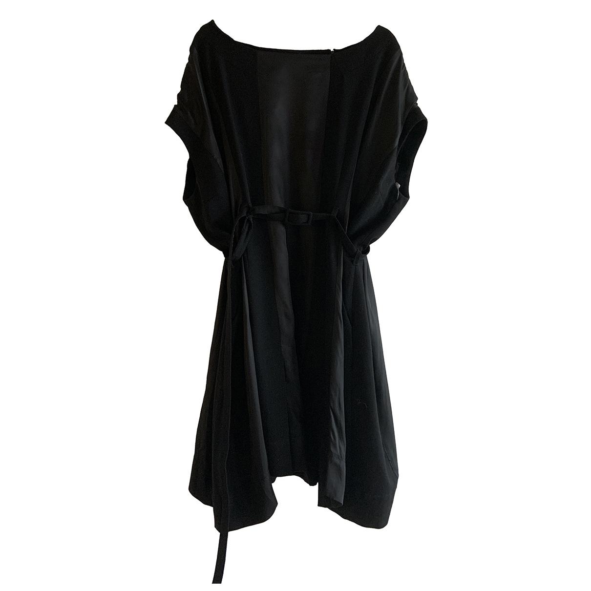 Maison Martin Margiela Pour H&m \N Kleid in  Schwarz Wolle