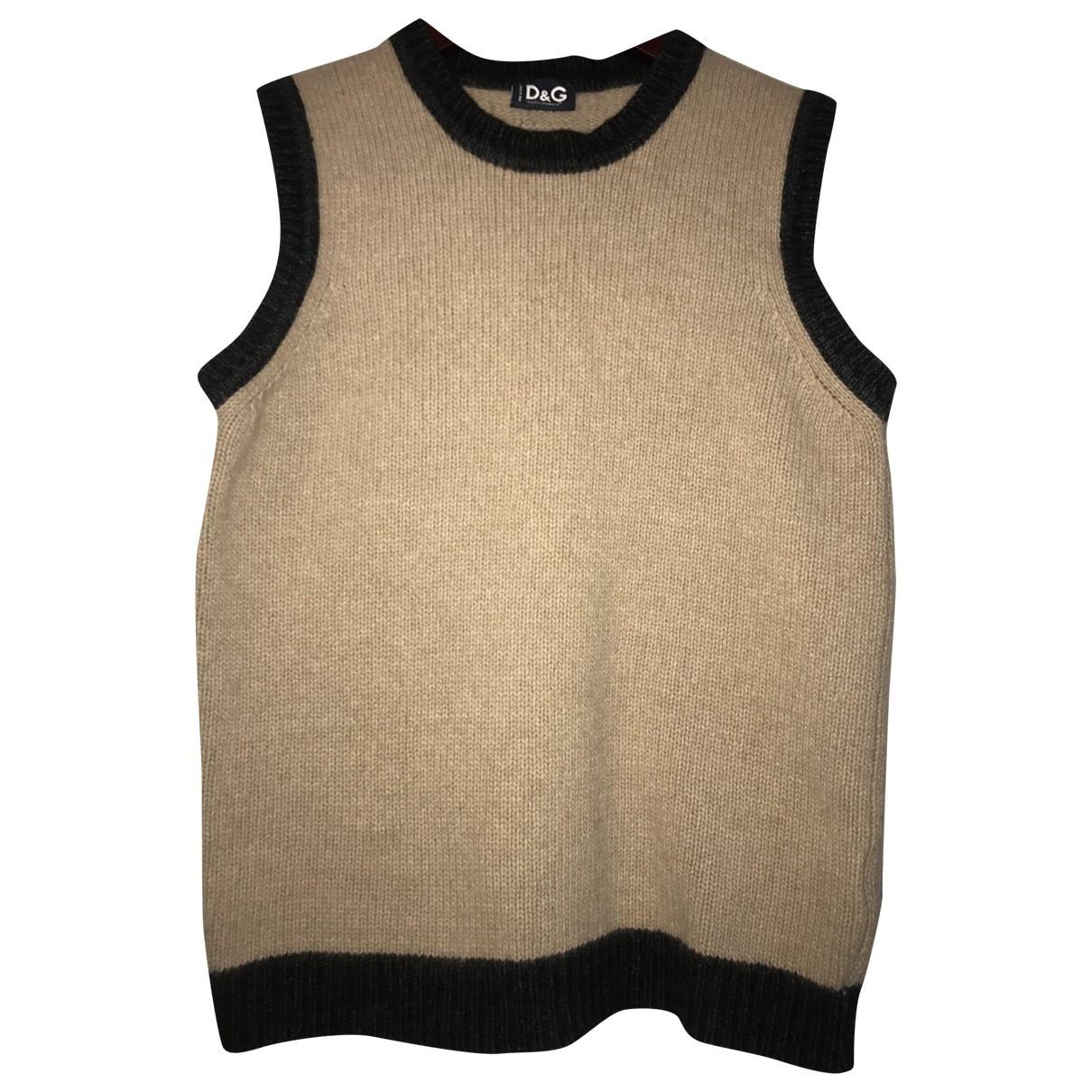 D&g \N Top in  Braun Wolle