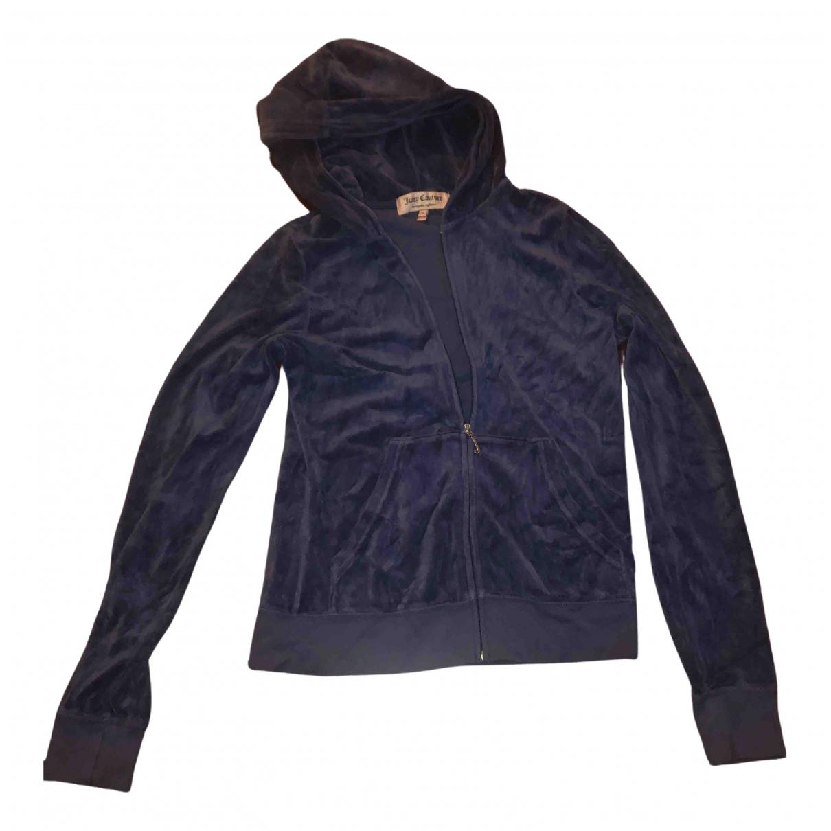 Juicy Couture - Pull   pour femme en coton - bleu