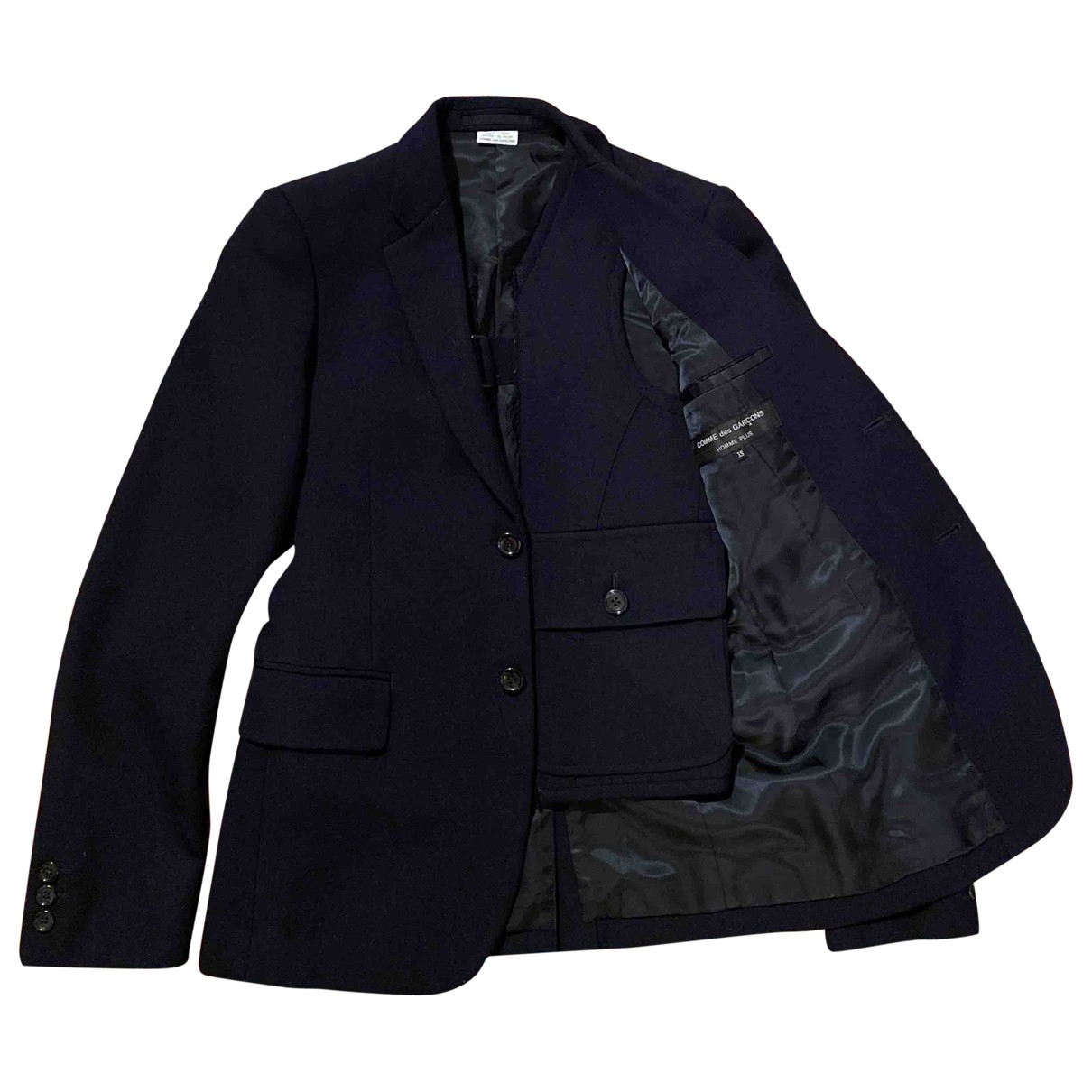Comme Des Garcons \N Blue Wool jacket  for Men XS International