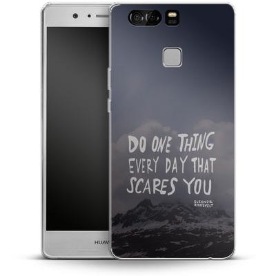 Huawei P9 Silikon Handyhuelle - Scares You von Leah Flores