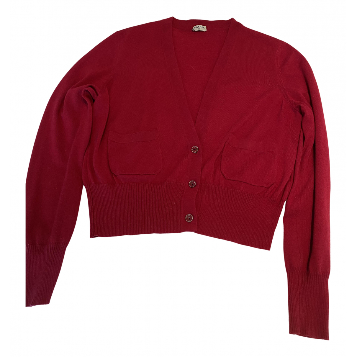 Chanel N Red Cashmere Knitwear for Women 40 FR