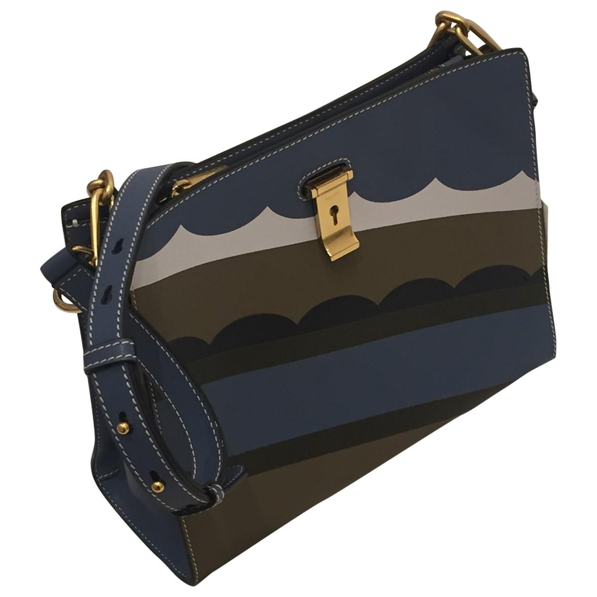 Bally \N Turquoise Leather handbag for Women \N