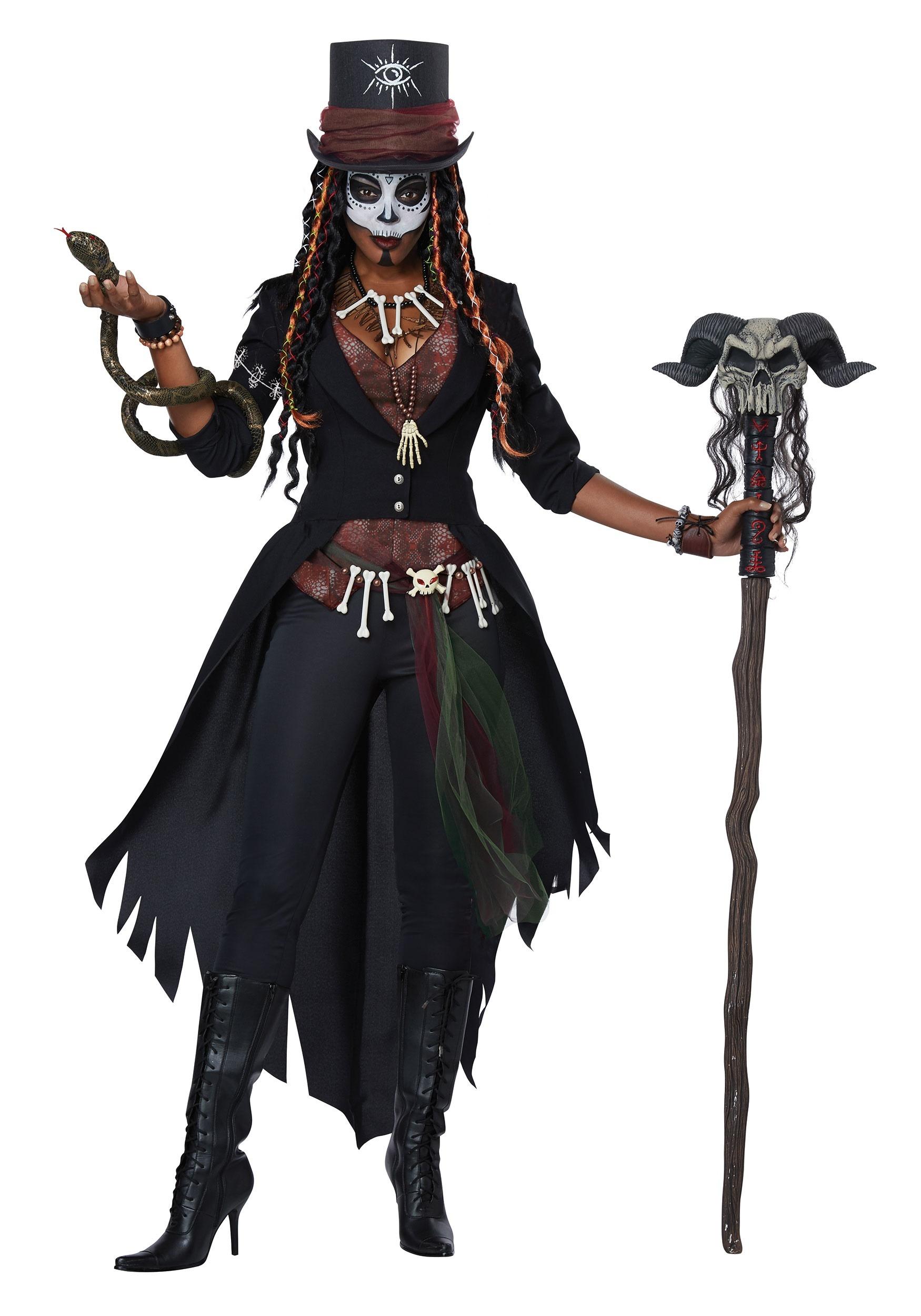 Voodoo Magic Costume for Women   Magic Bayou Babe Costume