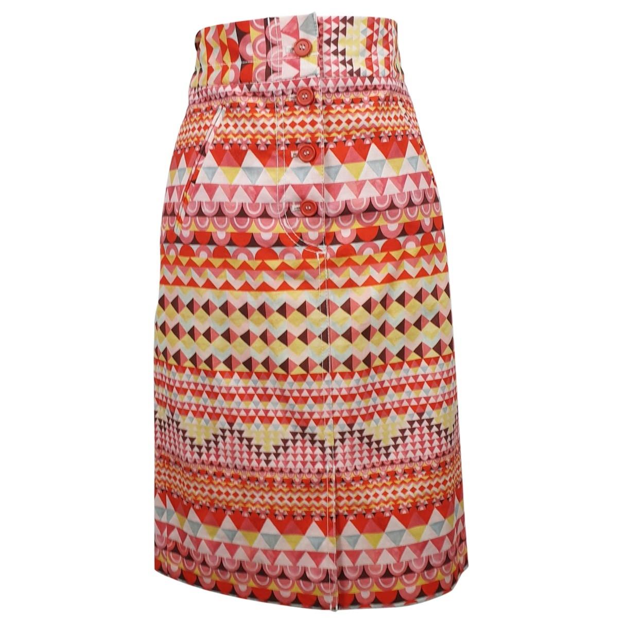 M Missoni \N Multicolour Cotton - elasthane skirt for Women 40 IT