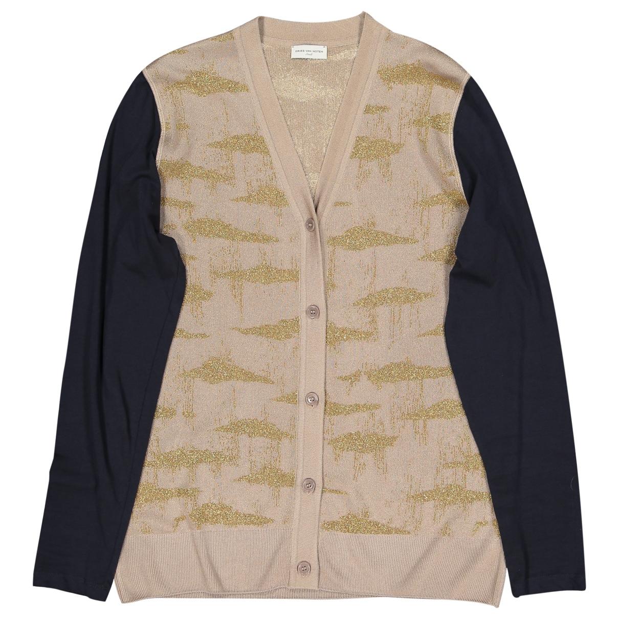 Dries Van Noten - Pull   pour femme en coton - beige