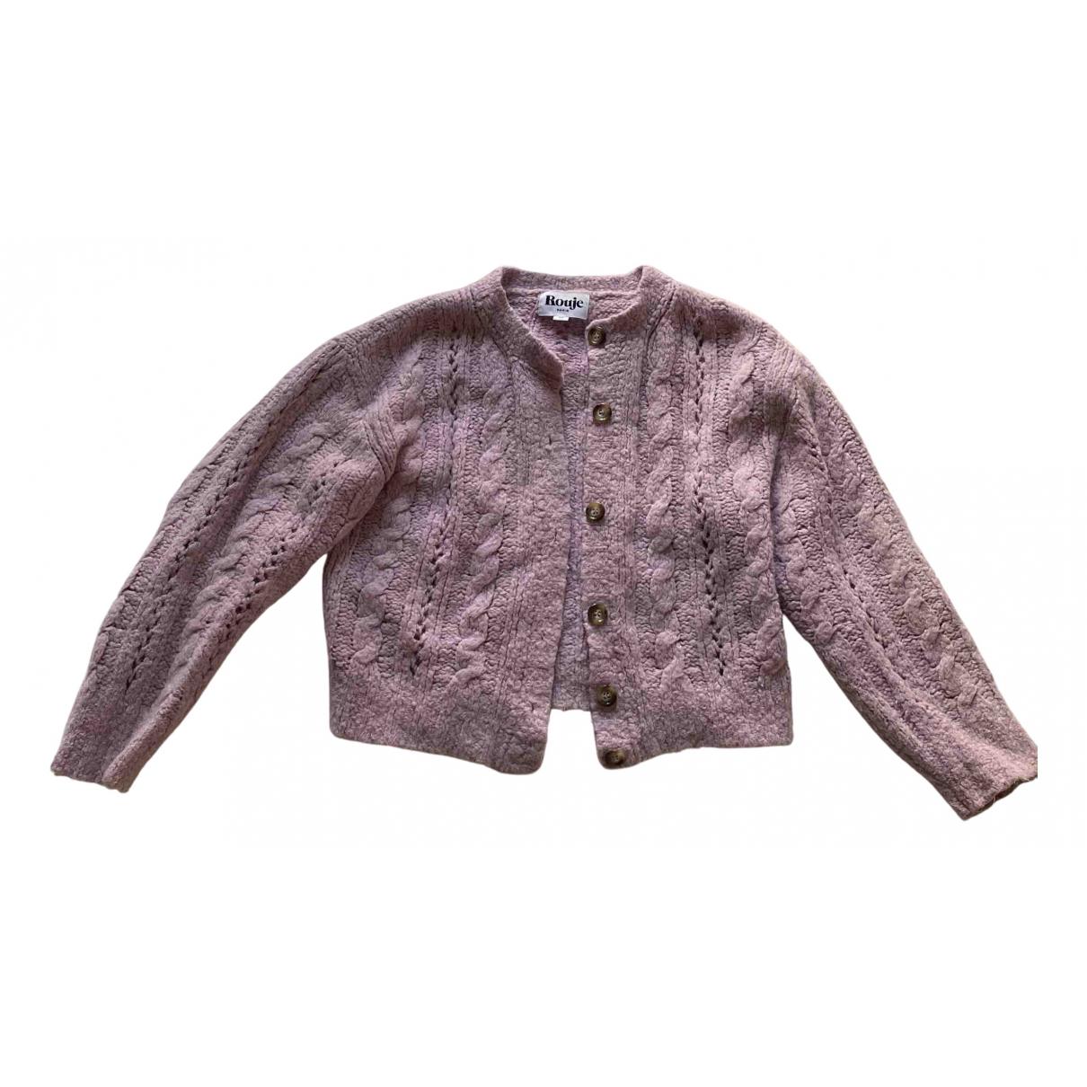 Rouje Spring Summer 2019 Purple Knitwear for Women 36 FR