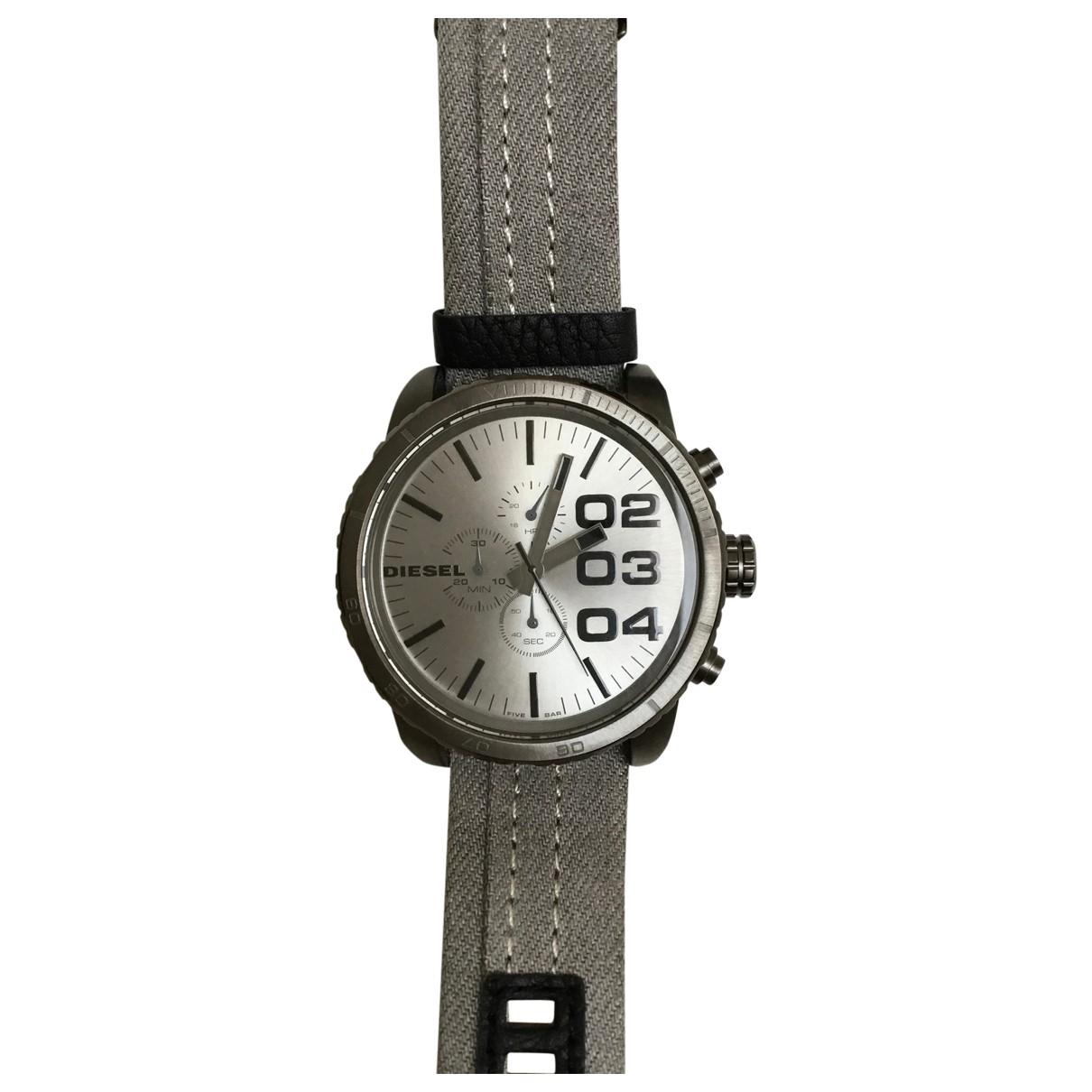 Diesel \N Grey Steel watch for Men \N