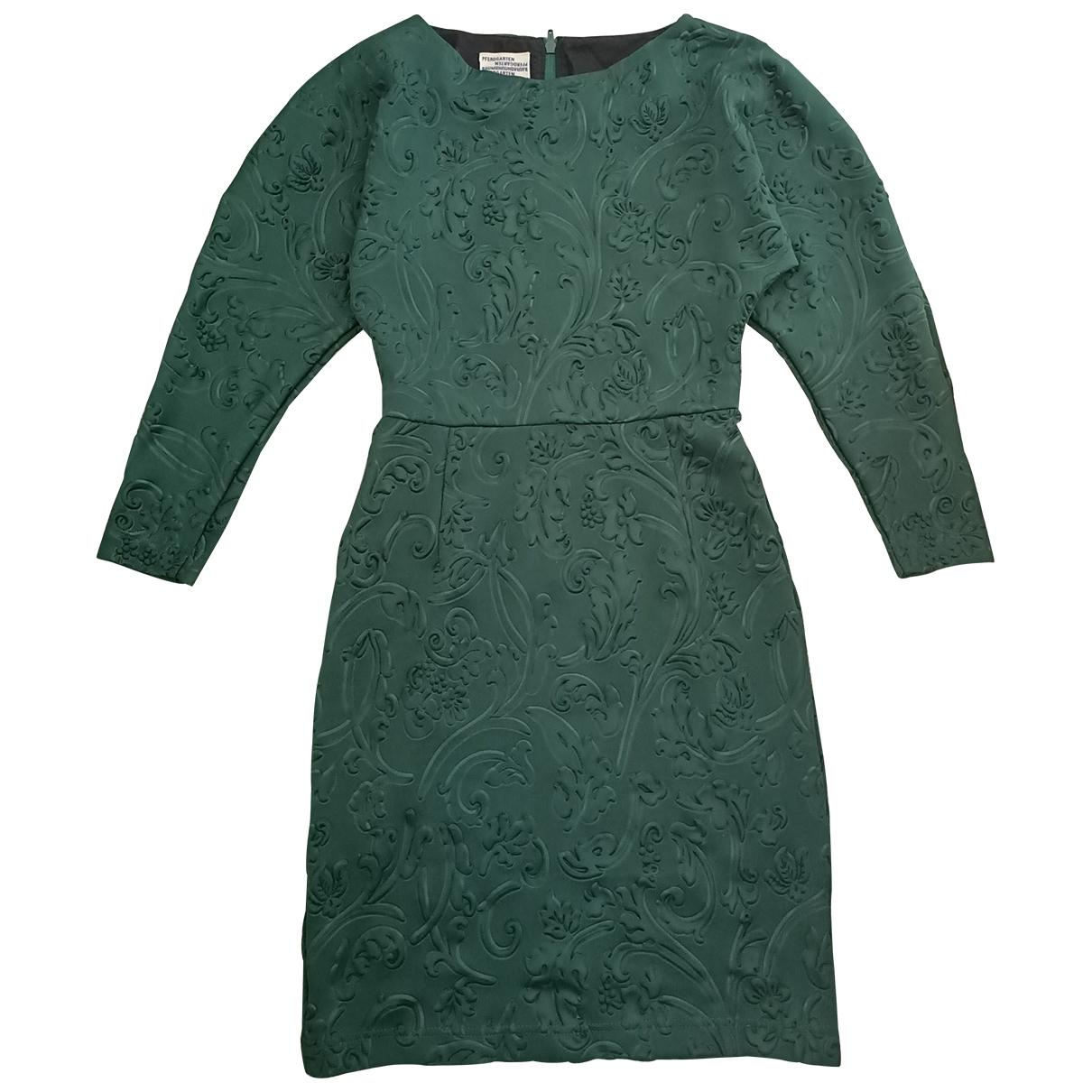 Baum Und Pferdgarten \N Green dress for Women S International
