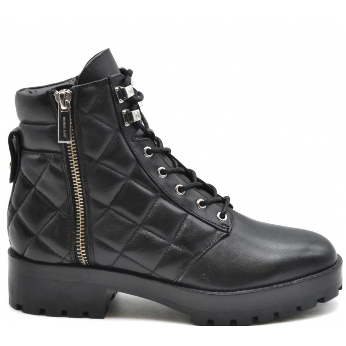 Michael Kors \N Black Leather Ankle boots for Women 38 EU