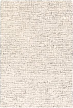 HCY2300-23 2' x 3' Rug  in Medium Gray and Khaki and