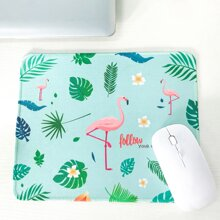 Flamingo Pattern Mouse Pad