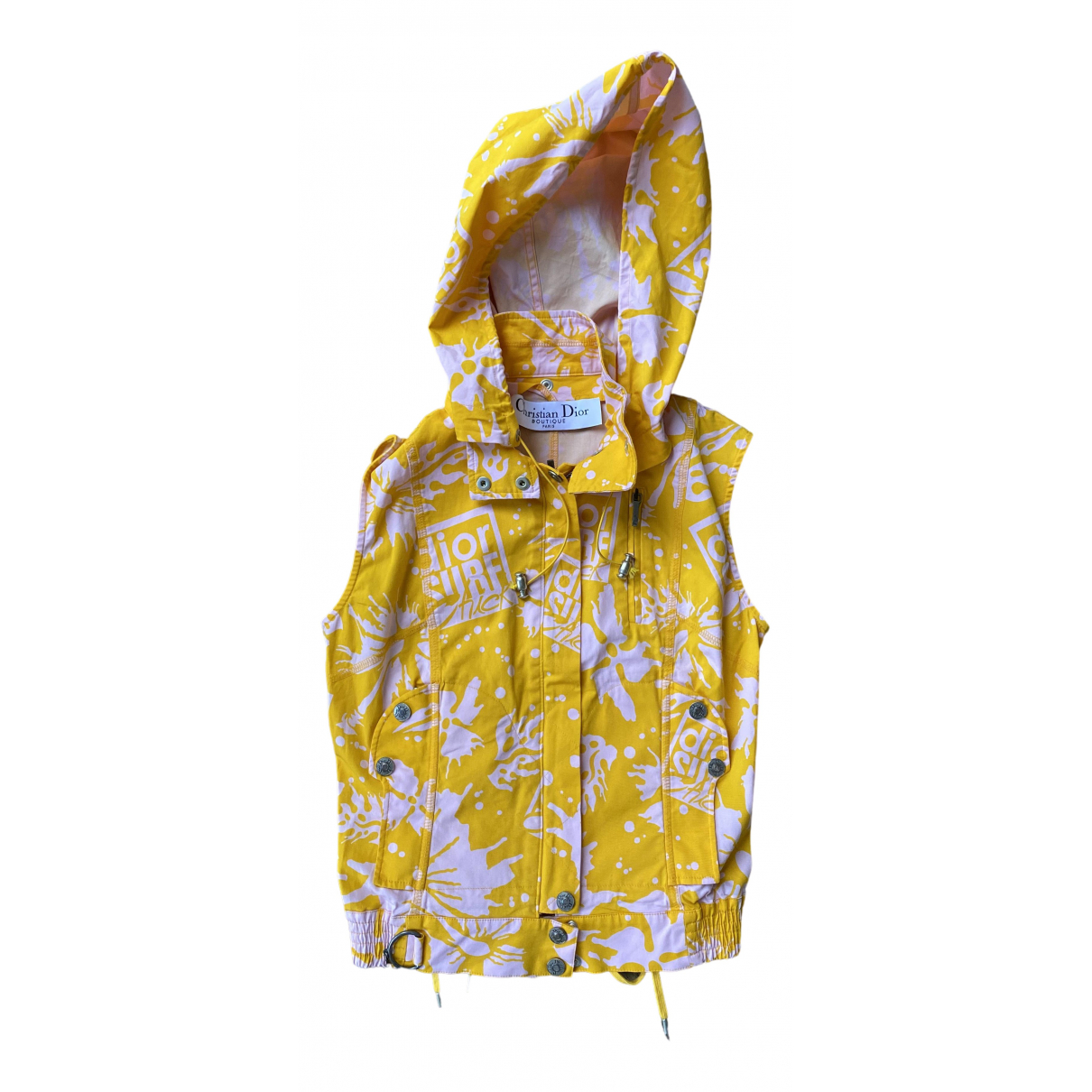 Dior \N Yellow Cotton jacket for Women 38 FR