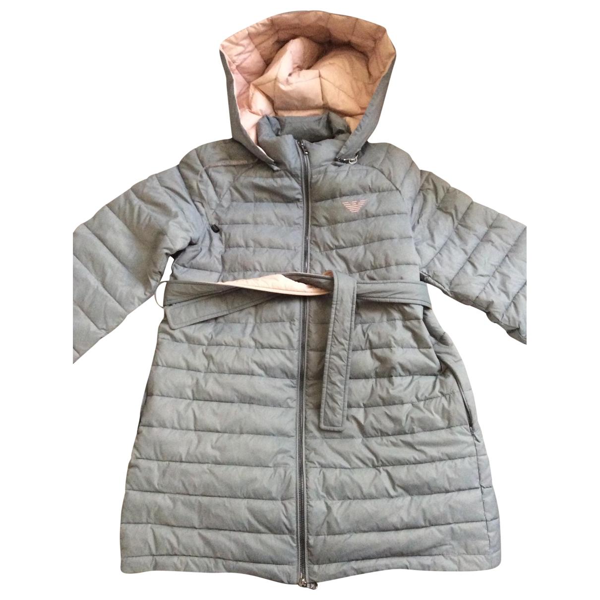 Emporio Armani \N Grey coat for Women 40 IT