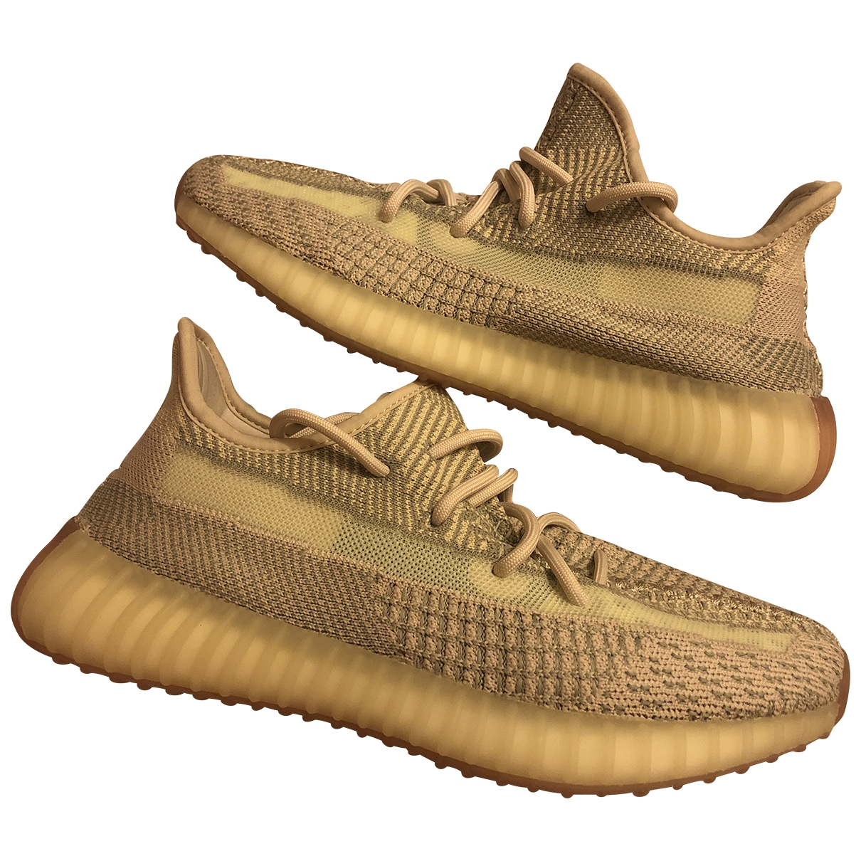 Yeezy X Adidas Boost 350 V2 Sneakers in  Rosa Leinen