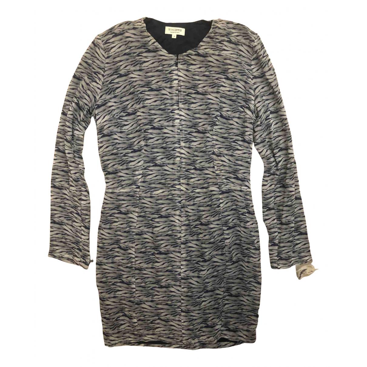 Roseanna \N Kleid in  Grau Seide