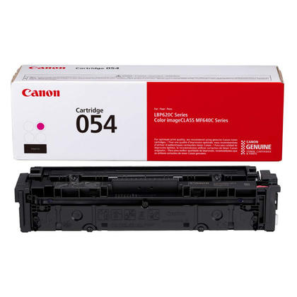Canon 054 CRG 054M 3022C001 Original Magenta Toner Cartridge