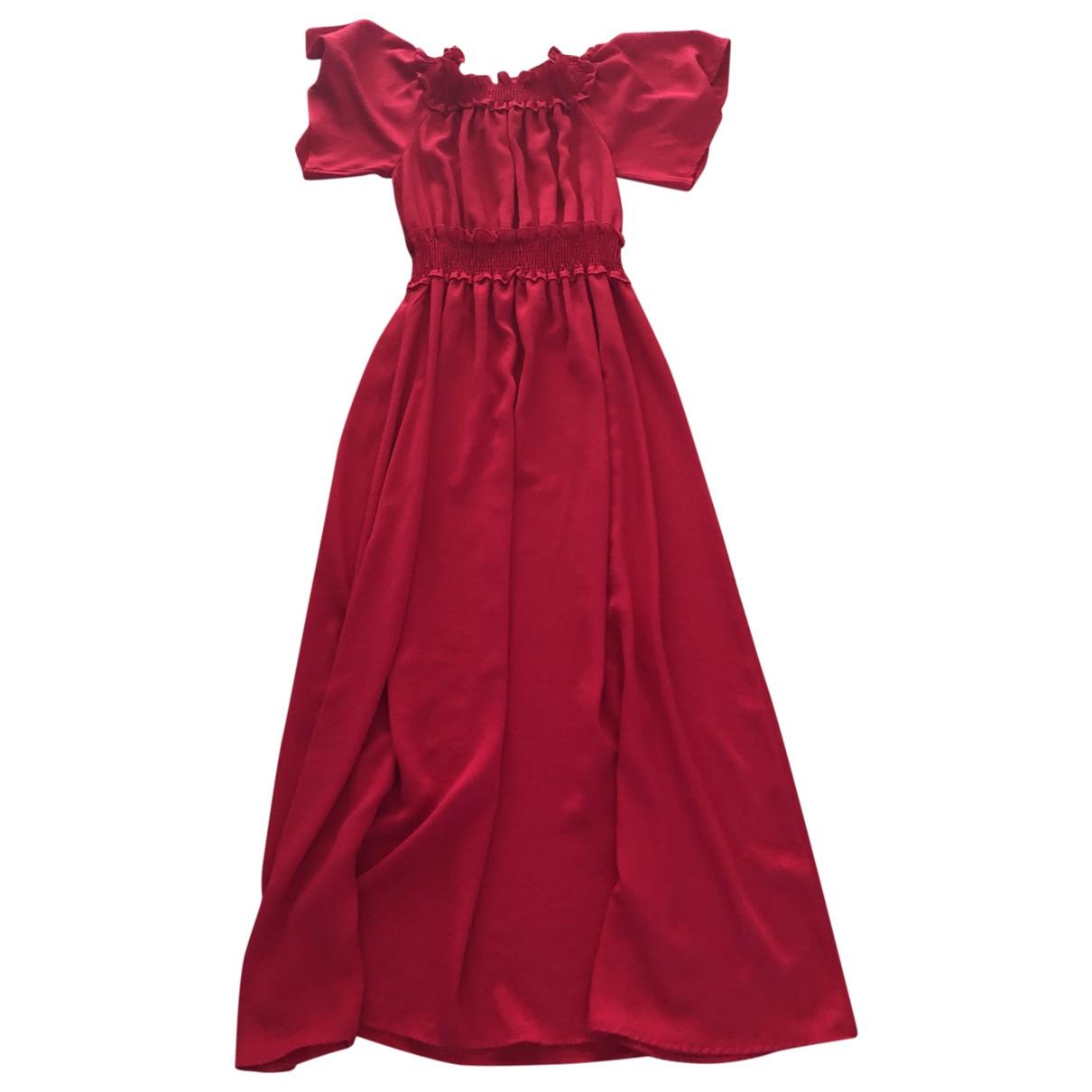 Zara - Robe   pour femme - rouge