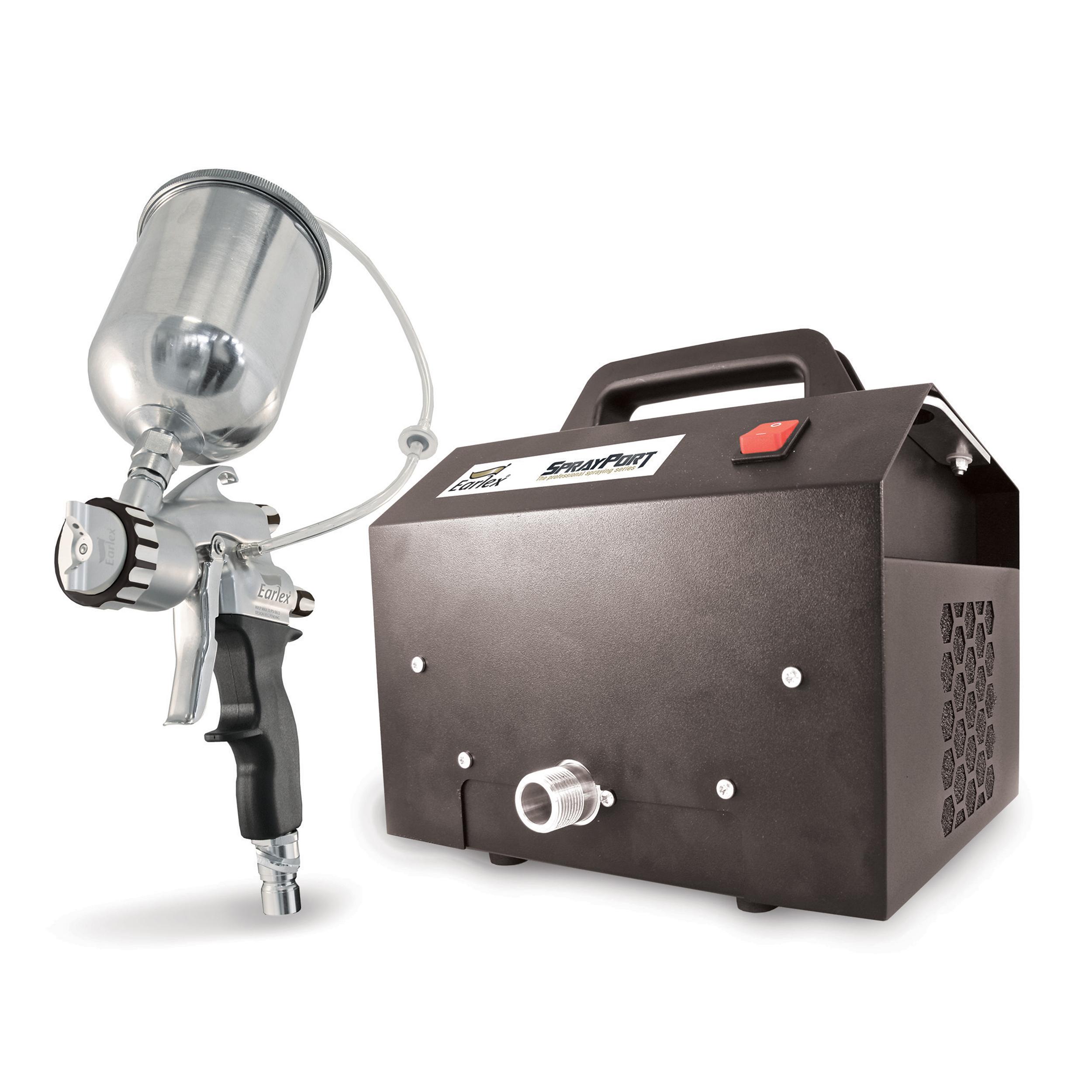 SprayPort 6003 with Gravity Feed Pro 8 Spray Gun, 6003-G